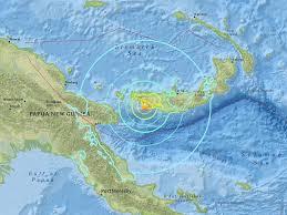 papua new guinea earthquake 6 9 magnitude quake strikes off coast