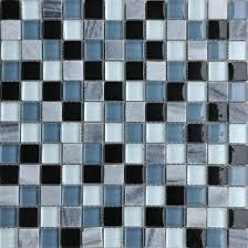 Blue Kitchen Backsplash by Design Decor Glass Mosaic Blue Kitchen Backsplash Tiles Sgmt003