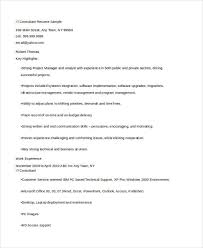 Information Technology Resume Samples by Information Technology Resumes 9 Free Word Pdf Format Download
