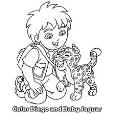 Top 10 Free Printable Diego Coloring Pages Online Go Diego Go Coloring Pages