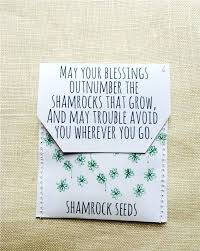 wedding seed favors wedding seed favors shamrock seed wedding favours pack of flower