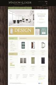 website template 48826 windows construction manufacturing custom