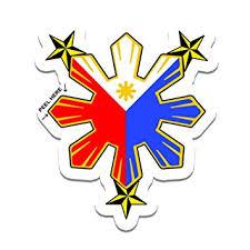 amazon com philippine flag sun with nautical car decal