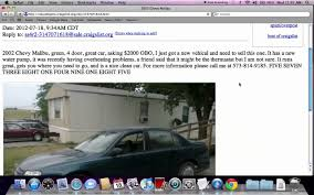 nissan altima for sale charleston sc craigslist jefferson city missouri used cars for sale by owner