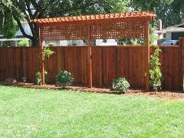 Backyard Privacy Fence Ideas Cheap Backyard Privacy Fence Ideas