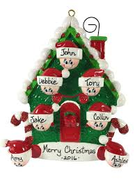 candy cane house family of 7 made of resin u2013 ornamentsforkeeps