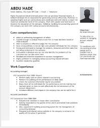 Individual Resume Accounting Manager Resume Contents Layouts U0026 Templates Resume