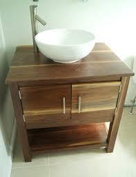 Handmade Bathroom Cabinets - bathrooms design antique rustic small handmade bathroom