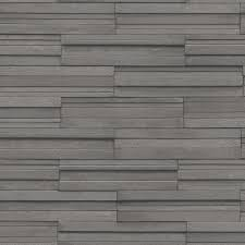 fine decor dark grey ceramica slate tile wallpaper available now