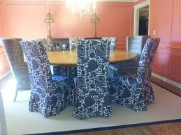 Ikea Dining Chair Slipcover Decorating Vivacious Parsons Chair Slipcovers With Great Fabric