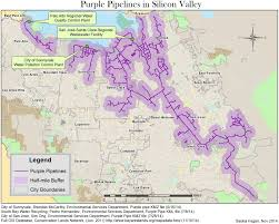 San Jose District Map by Wastewater Becomes A Resource In Silicon Valley Kqed Science