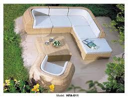 Rattan Garden Furniture Sofa Sets Rattan Outdoor Sofa Set 6 Seat Garden Furniture With Table Chiar