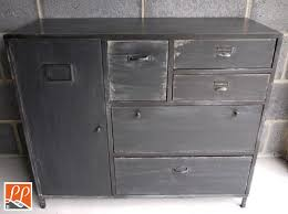 Multi Drawer Storage Cabinet Grey Multi Purpose Industrial Storage Unit With 6 Drawers And A