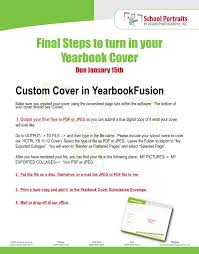 creating a yearbook creating custom covers