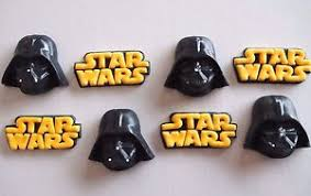 wars edible cake toppers 12 x edible wars 3d darth vader cupcake toppers birthday cake