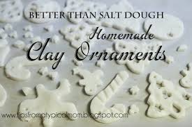 better than salt dough clay for ornaments or handprints