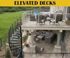 walkout basement walkout basement deck and patio ideas search