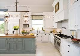 cuisine bi couleur couleurs agréable pour une cuisine déco moderne et accueillante