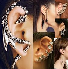 ear cuffs for pierced ears trend ear cuffs flair