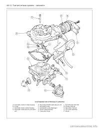 ford sierra 1991 2 g fuel and exhaust systems carburettor workshop