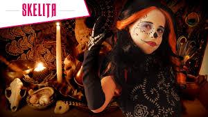 monster high skelita halloween costume tuto maquillage skelita monster high youtube