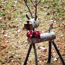 made log deer reindeer large 50 guthrie for sale in