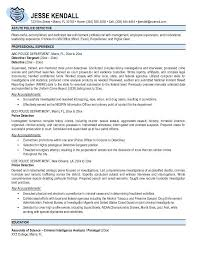 Successful Resume Template Law Enforcement Resume Template Berathen Com