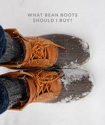 buy boots what style bean boot should you buy