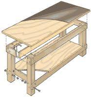 Simple Wooden Bench Plans Free by Ana White Build A Workbench To Get The Job Done Free And Easy
