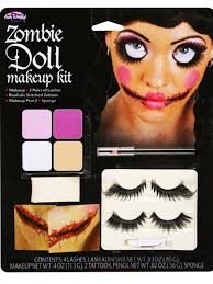 Broken Doll Makeup For Halloween by Zombie Doll Makeup Kit Make Special Fx Up Broken Dead Doll Kit
