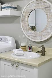 Coastal Bathroom Mirrors by Nautical Bathroom Mirror Home Design Styles