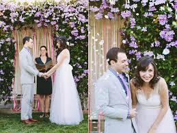 wedding backdrop garden handmade san diego garden wedding ruffled