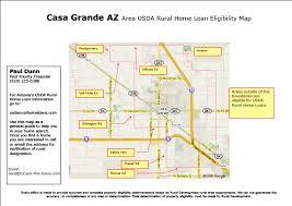 Usda Rual Development Map For Usda Rural Development Real Estate Loan In Casa Grande Az