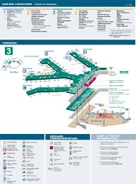 Miami International Airport Terminal Map by O U0027hare Airport Terminal 3 Map