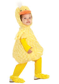 Leopard Costumes Halloween Toddler Yellow Duck Costume