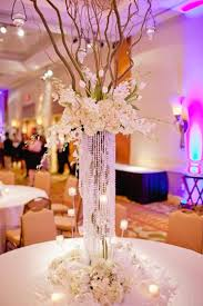 wedding centerpiece ideas with cylinder vases set of four vases