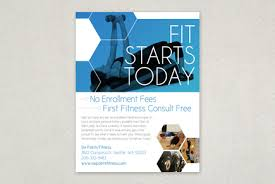 fitness brochure template fitness flyer template fitness flyer