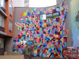 Wall Murals Australia Maya Hayuk New Mural For Public Festival Perth Australia