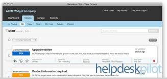 Help Desk System Helpdesk Pilot Helpdesk Software And Support Ticketing System