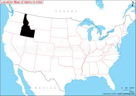 map us idaho where is idaho state where is idaho located in the us map