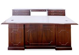 Mahogany Desk Accessories Kimball Mahogany Veneer Desk Set