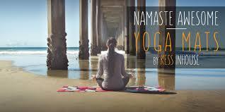 buy printed yoga mats online kess inhouse