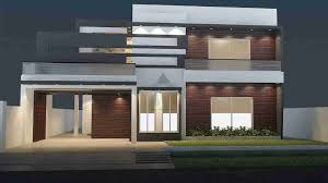 House Elevation by 1 Kanal House Design With Basement Front Elevation House
