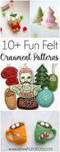 10 fun felt ornaments to sew sew what alicia