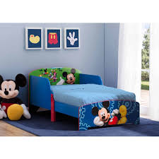 mickey mouse wooden toddler bed walmart com