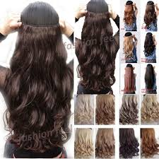hair extensions clip in local post 18 28 inches curly wavy one clip in on