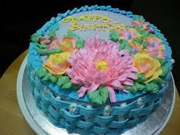 baking mum a birthday cake