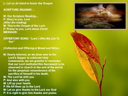 order of thanksgiving service entrance song here i am to worship