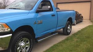16 ram 3500 diesel manual robin egg blue one of one youtube