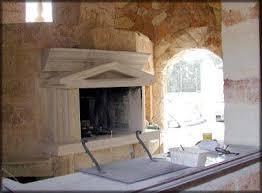 camini per interni rivestimento e costruzione di un forno per uso pizzeria la